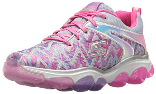 Skechers Kids Girls' Skech-Air Groove Sneaker,pink/multi,3 Medium US Little Kid