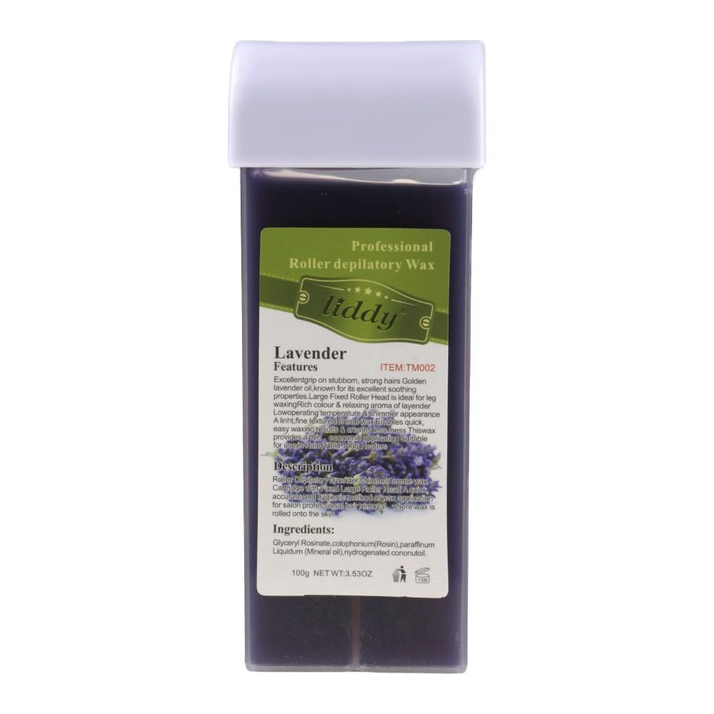 VANKER Depilatory Wax Cartridge Heater Waxing Hair Removal Smooth Leg Beewax-Rose