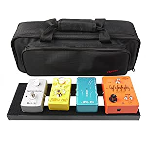 Mr.Power Pedalboard With Bag Made By Aluminium Alloy (15inch-WithBag)