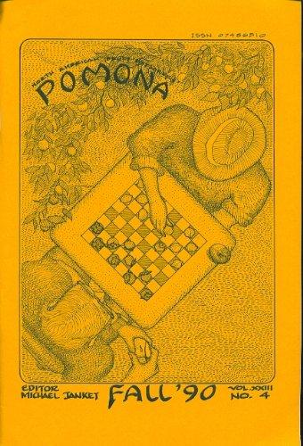 Pomona Fall 1990 (Pomona Quarterly Journal, Vol. XXIII, No. 4)