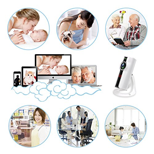 Video Baby Monitor WiFi Camera, CAMVIEW Wireless Security IP