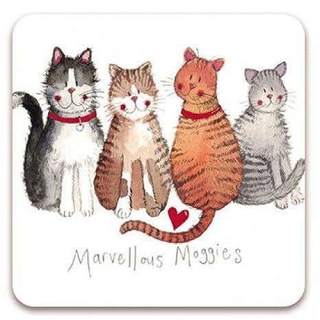 Cute Fun/ /imanes de nevera de gato por Alex Clark Martin