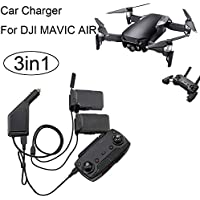 Rucan 3in1 Car Charger Adapter For DJI Mavic Air Remote Control & Battery Charging Hub