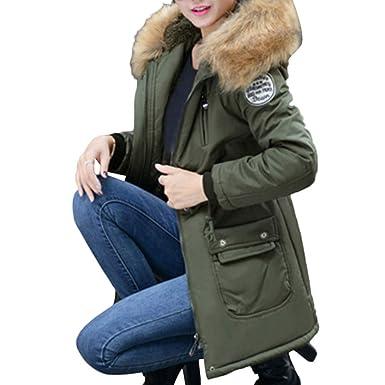 SEWORLD Winterjacke Steppjacke Frauen Oberbekleidung Kapuzen