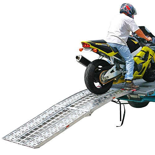 (Black Widow AF-9034-HD 89' Arched Folding Motorcycle Ramp System)