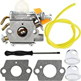 Panari 308054028 Carburetor with Adjustment Tool Kit Screwdriver for Ryobi RY28020 RY28040 CS26 Homelite UT-20004-A UT-20004-B UT-20024-A