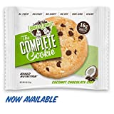 Lenny & Larry's The Complete Cookie, Coconut Chocolate, 4-Ounce Cookies (Pack of 12)
