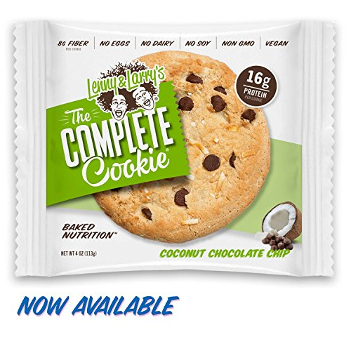 [SALE] Lenny & Larry's The Complete Cookie, Coconut Chocolate Chip, 4-Ounce Cookies (Pack of (Coconut Sweet Cookies)