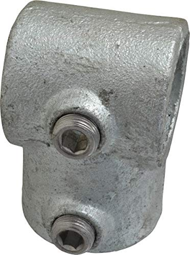 Malleable Iron Pipe Rail Fitting Single Socket Tee 1-1//4 Inch Pipe PRO-SAFE 6 Pack