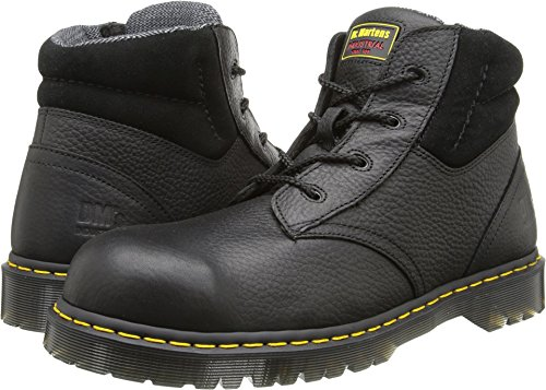 Dr. Martens Work Men's New Icon 4 Eye Boot Black 9 M UK - Icon Martens Dr