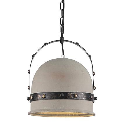 Shubiao American Retro Loft Lámpara de Cabeza Única ...