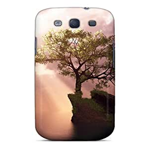 S3 Scratch-proof Protection Case Cover For Galaxy/ Hot Digital 3d Background Phone Case