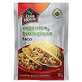 Club House, Organic Seasoning Mix, Taco, 35g