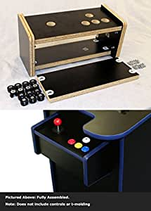 bartop arcade cabinet kit cocktail arcade cabinet replacement 10935