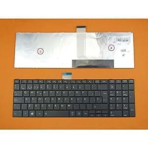 TECLADO PARA TOSHIBA SATELLITE C50 C50d C55 C55d V143026CK1: Amazon.es: Electrónica