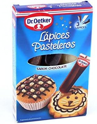 Lápices Pasteleros sabor chocolate 3+1