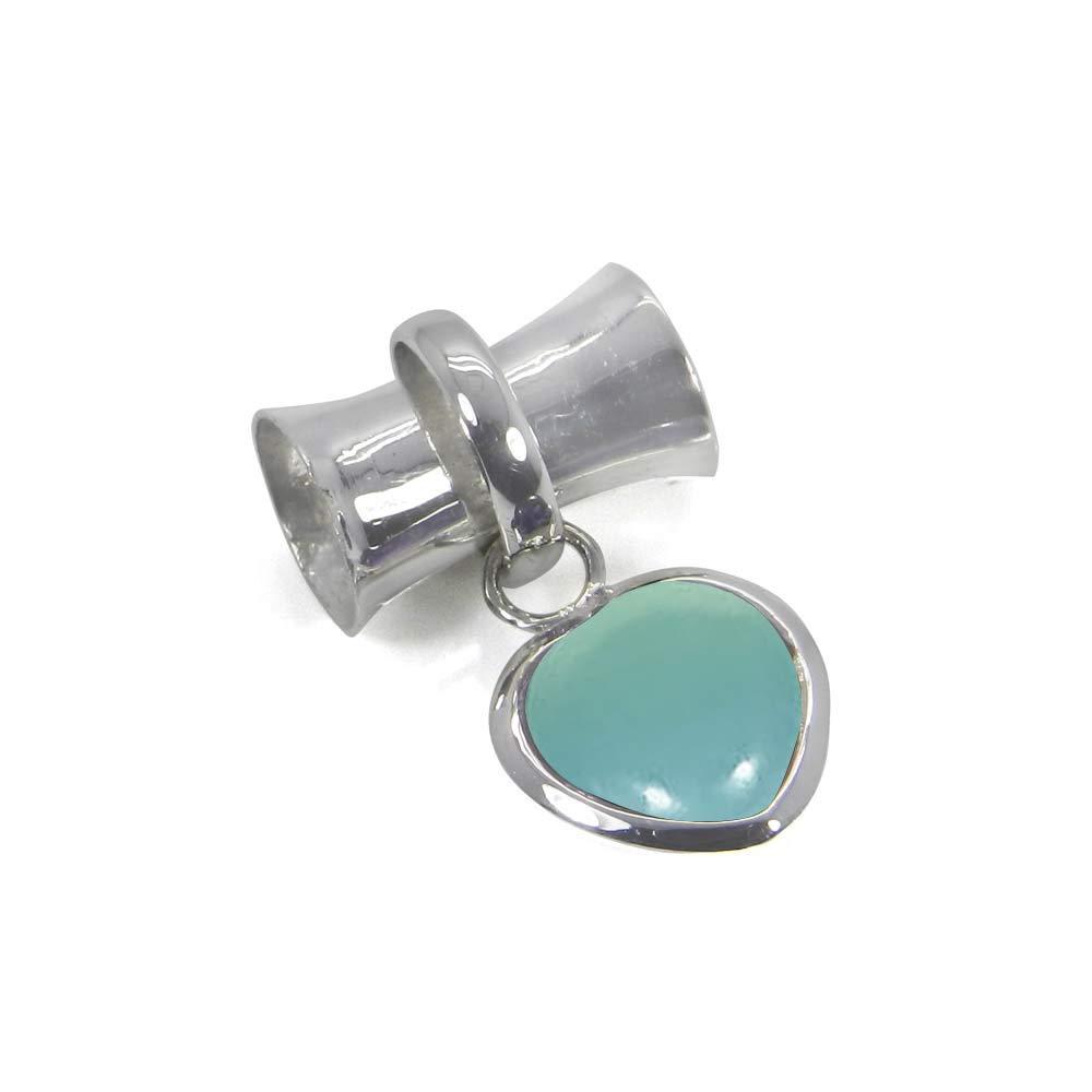 Choose Your Color Natural Gemstone 925 Sterling Silver Heart Shape Handmade Pendant Necklace