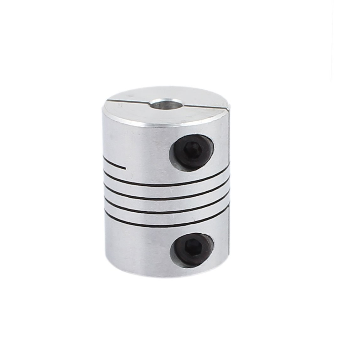 sourcingmap 14mm to 12mm Shaft Coupling 40mm Length 32mm Diameter Stepper Motor Coupler Aluminum Alloy Joint Connector for 3D Printer CNC Machine DIY Encoder a16121900ux0397