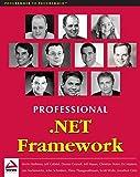 img - for Professional .NET Framework book / textbook / text book