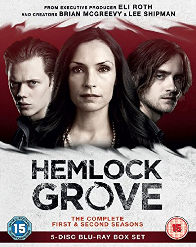 Hemlock Grove (Complete Seasons 1 & 2) - 5-Disc Box Set ( Hemlock Grove - Seasons One and Two ) [ Blu-Ray, Reg.A/B/C Import - United Kingdom ]