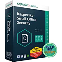 Kaspersky Small Office Security Latest Version- 25 PCs + 3 File Server + 25 Mobile Devices  (Email Delivery in 2 hours- No CD)