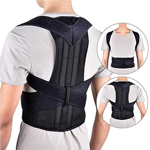(Back Brace Posture Corrector Adjustable Posture Support, Back Brace Men and Women Supports Correct Posture Upper and Lower Back Lumbar (XXL) )