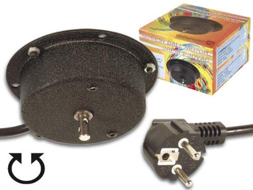 /220/V Negro CONECTICPLUS Motor para Bola de Discoteca 2.5/revoluciones por Minuto/