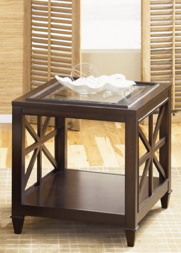 Liberty Furniture Industries 318-OT1020 Caroline Occasional End Table, Espresso Stain Finish