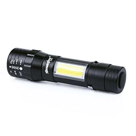 MIRRAY Mini 3500LM Zoomable Q5 antorcha linterna LED Lámpara de luz super brillante