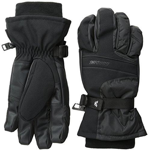 Gordini Men's Aqua Bloc VIII Gloves, Black, Small