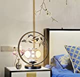 Metal Ceramic Table Lamp Creative Simple Bedside Lamp Bedroom Desk Decoration Table Lamp (40 45Cm)