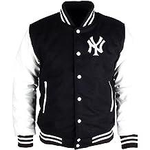 J.H. Design JH Design Original Men's New York Yankees Hooded Reversible Varsity Jacket