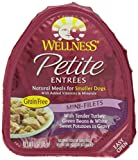 Wellness Natural Pet Food Petite Entrees Mini-Fillets w/Tender Turkey (Case of 24)