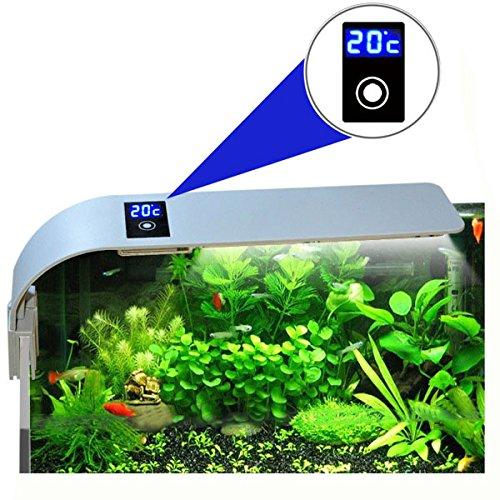 Vivona Fish & Aquatic Pets PT-08 Aquarium Fish Tank LED Light 15W 5730 Energy Saving Lamp EU Plug Aquatic Lightings Bar