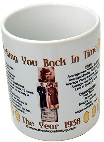 1938 Coffee Mug Includes Gift Box Born In 1938 Gift