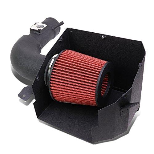 (DNA MOTORING ITK-FRS-BK Aluminium Alloy Cold Air Intake Kit (Black))