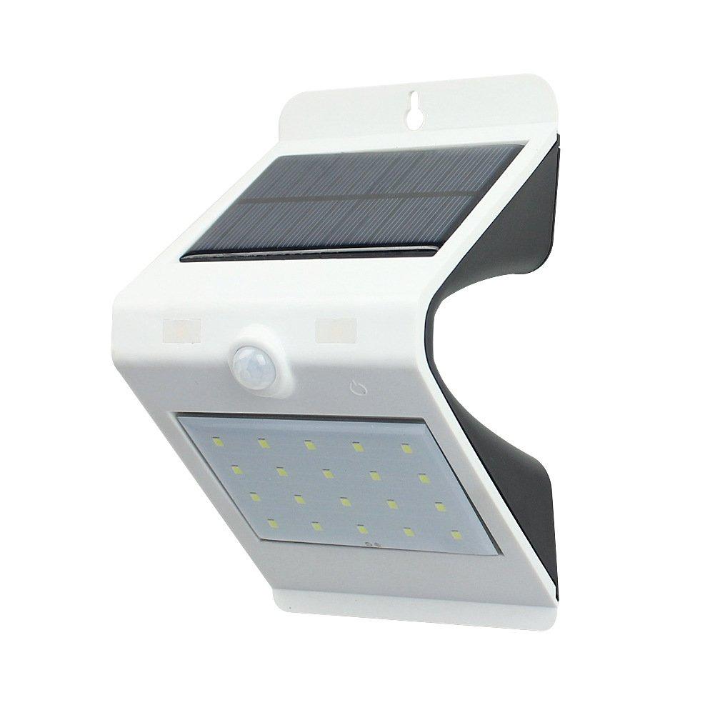 TDC 20 Bright LED Solar Lights Outdoor Courtyard Motion Sensor Lights for Patio Deck Yard Garden