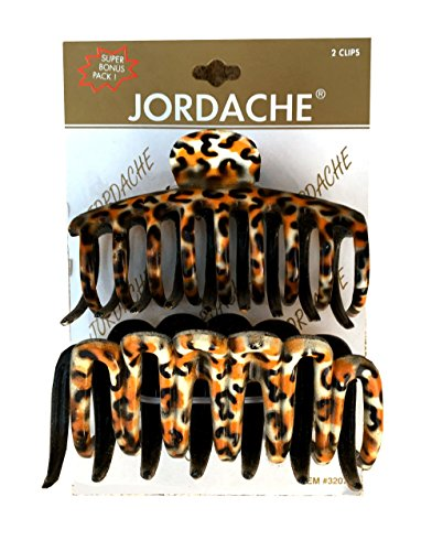 jordache-leopard-pattern-hair-ponytail-clips