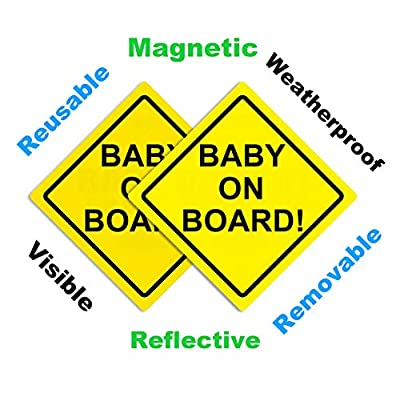 Sungrace Baby on Board Sign