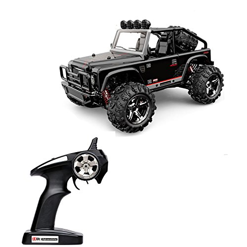 RC Car 4WD Off Road SUV High Speed 50M Remote Control Electric Vehicle Buggy with LED Night Vision