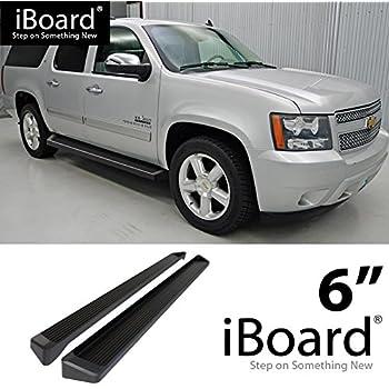 "4/"" iBoard Side Nerf Bar Fit 00-19 Chevy Avalanche//Suburban//GMC Yukon XL"