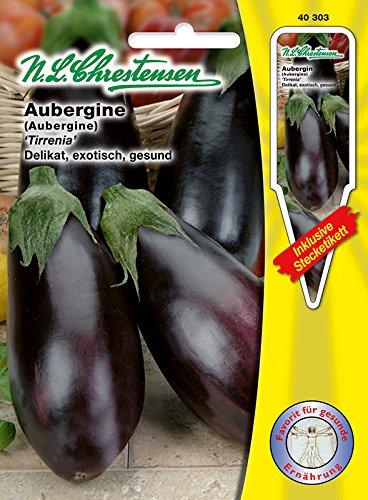 Aubergine Tirrenia Portion inkl. Stecketikett