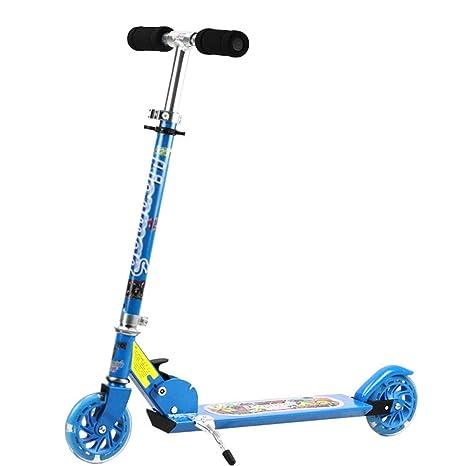 Patinete- Scooter para niños Yo Car Kick Scooter para niños ...