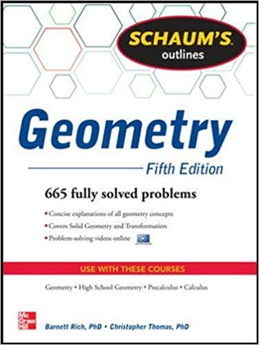 Amazon.com: Schaum's Outline of Geometry, 5th Edition: 665 Solved ...