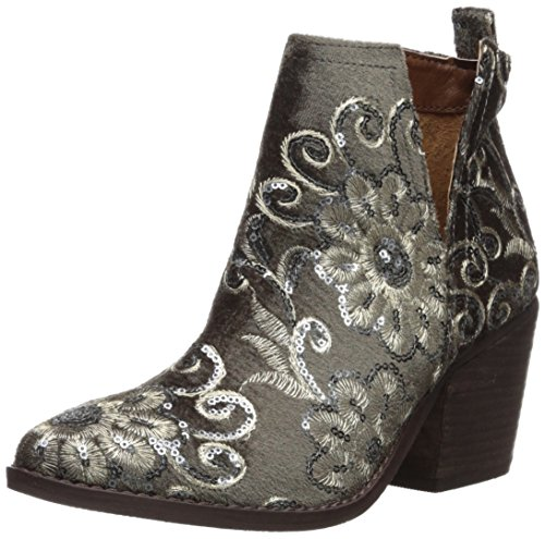 Naughty Monkey Women's Seleni Ankle Boot Grey