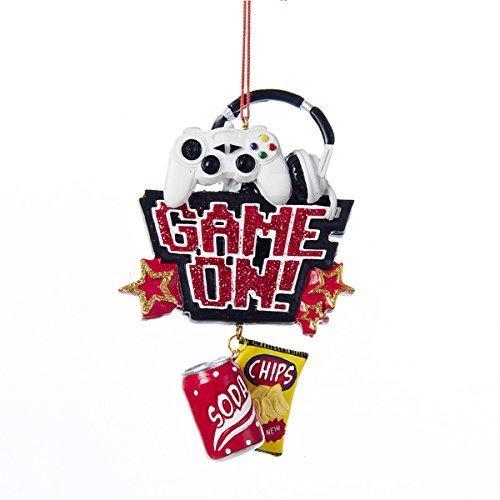 Game On Ornament by Kurt Adler (Christmas Ornaments Xbox)