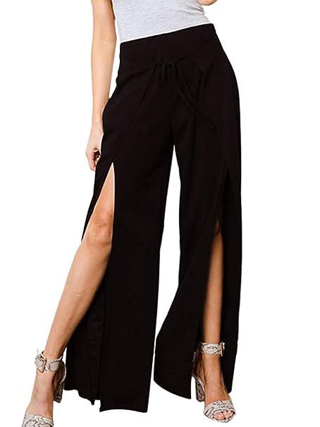 Amazon.com: ALLUMK - Pantalones de yoga para mujer con ...