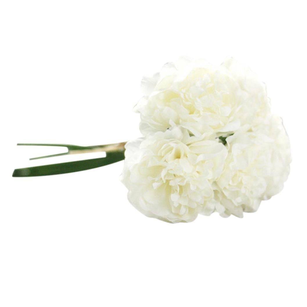 Amazon Inverlee Artificial Flowers Silk Peony Hydrangea Fake