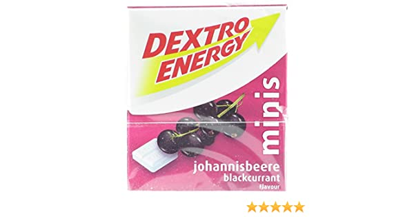 Amazon.com : Dextro Energy Minis Blackcurrant (12-pack) : Gourmet Food : Grocery & Gourmet Food
