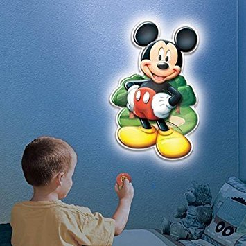 - Wall Friends Mickey Mouse 3D Wall Dcor